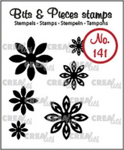 Crealies Clearstamp Bits & Pieces 6x Mini Bloemen 18  max. 20 mm