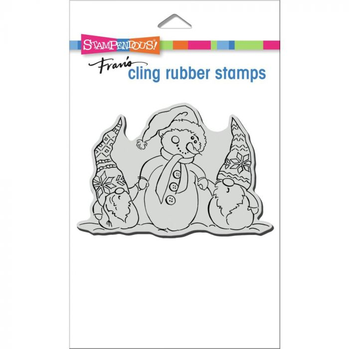 Stampendous Cling Stamp Snome Buddies