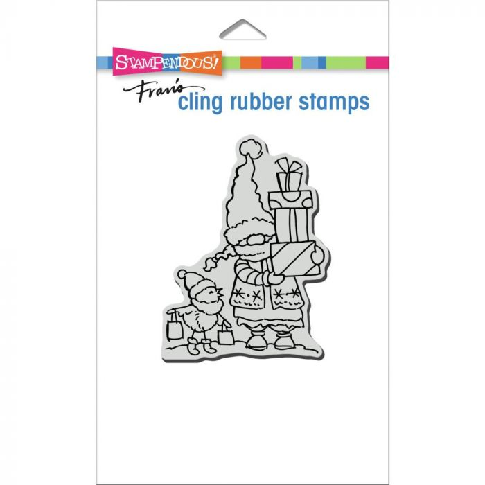 Stampendous Cling Stamp Gnome Shoppers
