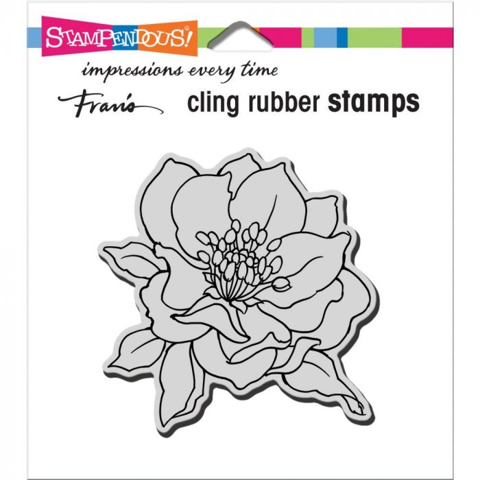 Stampendous Cling Stamp Small Hellebore