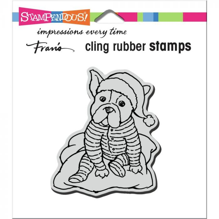 Stampendous Cling Stamp Pajama Pup