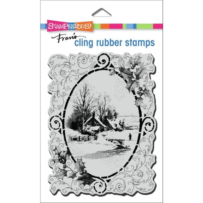 Stampendous Cling Stamp Vintage Vignette