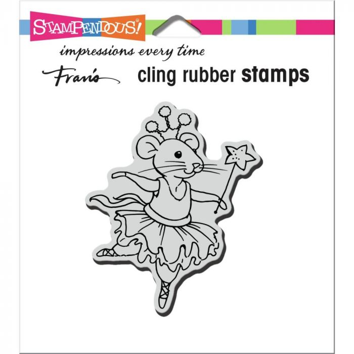 Stampendous Cling Stamp Clara Mouse