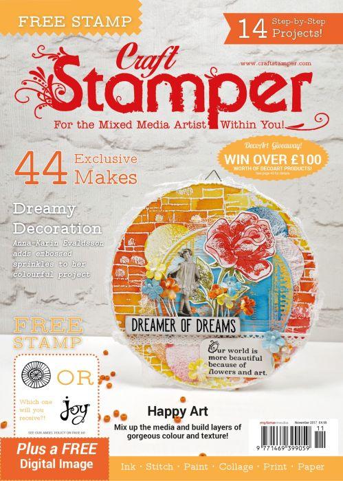 Craft Stamper November 2017