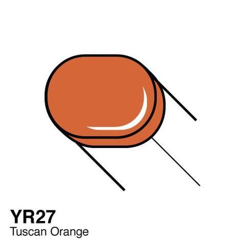 YR27 Copic Sketch Tuscan Orange