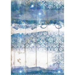 Stamperia Rice Paper A4 Romantic Sea Dream Texture