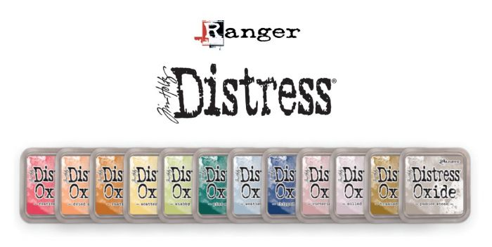 Tim Holtz Distress Oxide set 5 alle 12 nieuwe kleuren