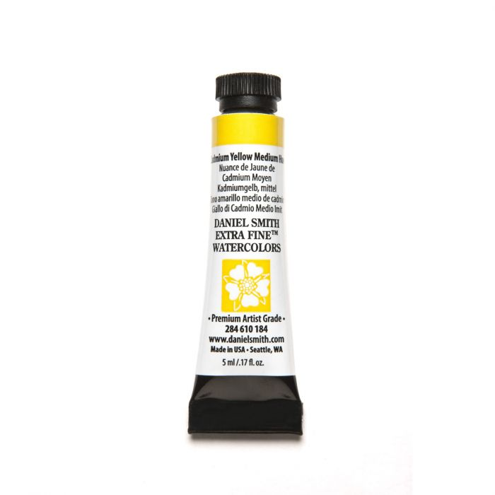 Daniel Smith extra fine watercolors Cadmium Yellow Medium Hue 5ml