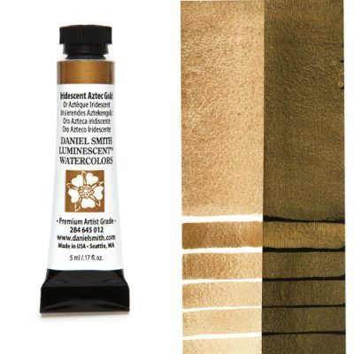 Daniel Smith extra fine watercolors Iridiscent Aztec Gold 5ml