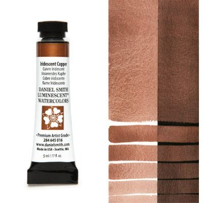 Daniel Smith extra fine watercolors Iridiscent Copper 5ml