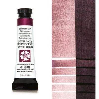 Daniel Smith extra fine watercolors Iridiscent Ruby 5ml