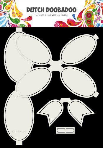 Dutch Doobadoo Card Art Strik 4pc A4
