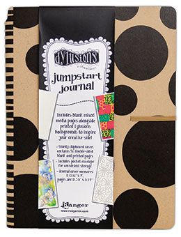 pre-order Dyan Reaveley's Dylusions Jumpstart Journal