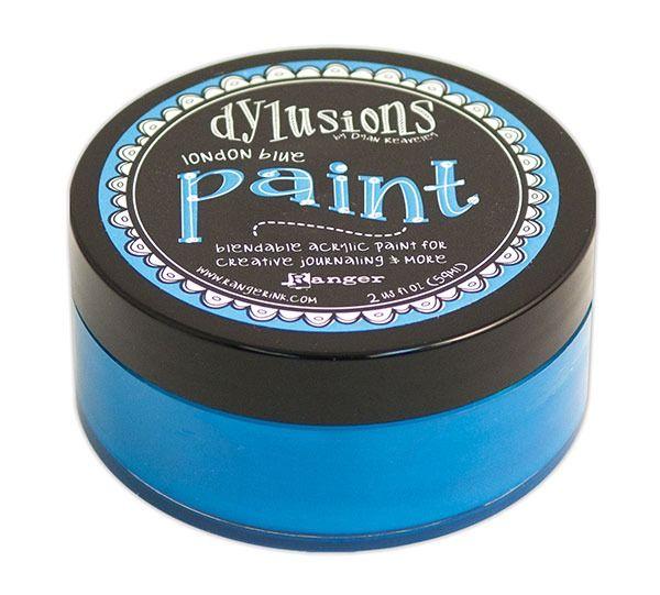 Dyan Reaveley's Dylusions Paint - London Blue