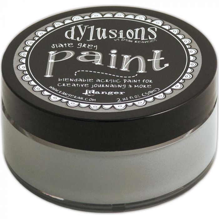 Dylusion Paint Slate Grey