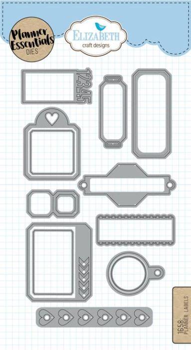 Elizabeth Craft Design Planner Labels