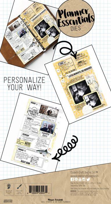 Elizabeth Craft Designs Planner Essentials - 1