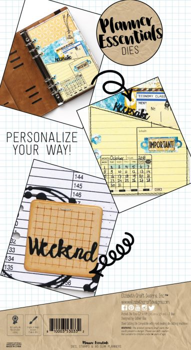 Elizabeth Craft Designs Planner Pocket - 2