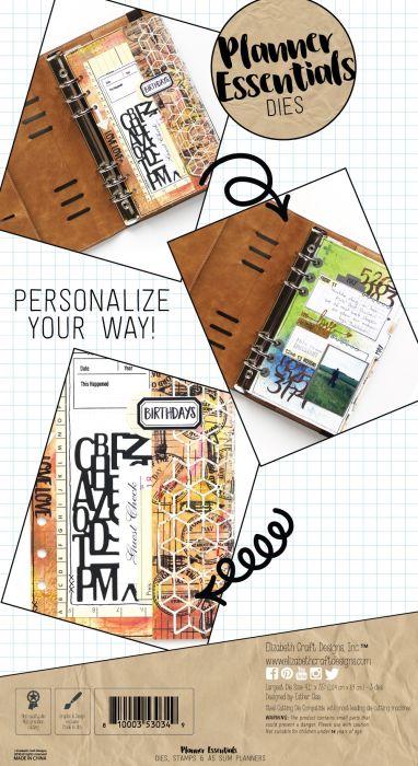 Elizabeth Craft Designs Planner Patterns
