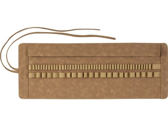 Roletui Faber Castell kunstleer bruin capaciteit: 45
