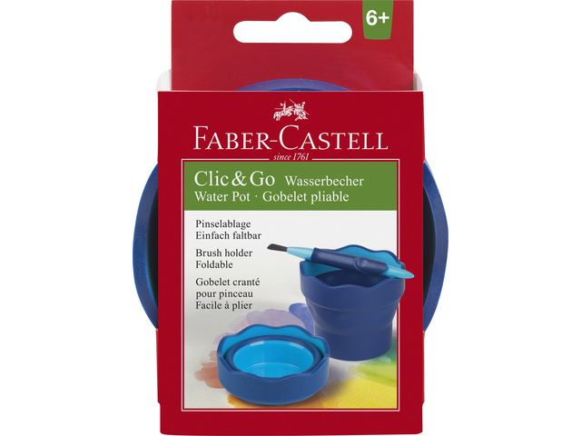 watercup Faber-Castell Clic&Go blauw
