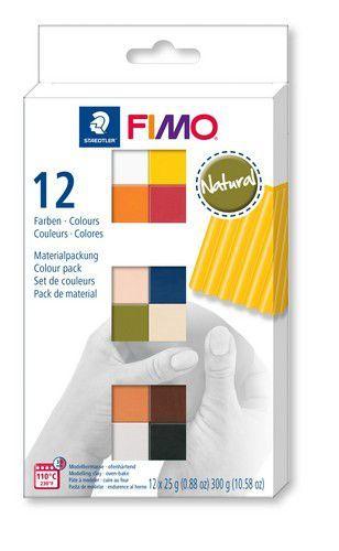 Fimo soft colour pack 12 natural colours /12x25gr