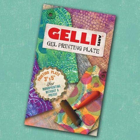 Gelli Plate 3 x 5 inch Gel Printing Plate
