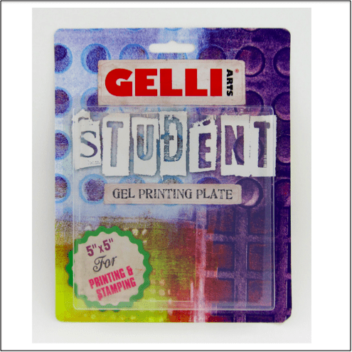 Gelli Plate 5 x 5 inch (12,5x12,5cm) Student Gel Printing Plate