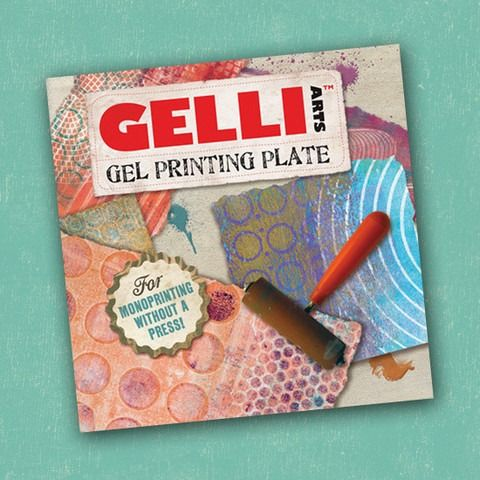 Gelli Plate 6 x 6 inch (15x15cm) Gel Printing Plate