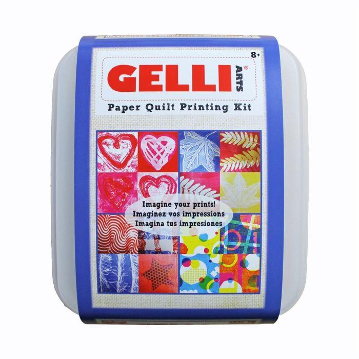 Gelli Paper Quilt Printing Kit