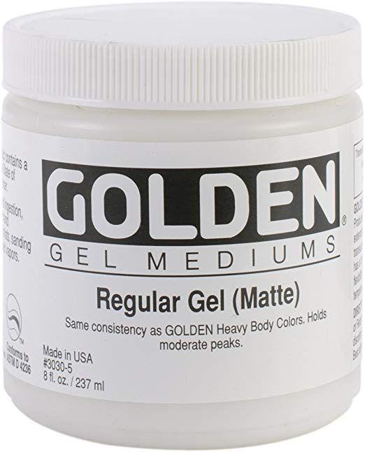 Regular Gel - gel medium - mat - pot 236ml