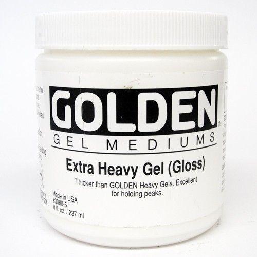 Extra Heavy Gel - gel medium - glanzend - pot 236ml