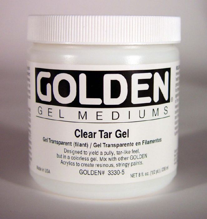 Clear Tar Gel - gel medium - pot 236ml