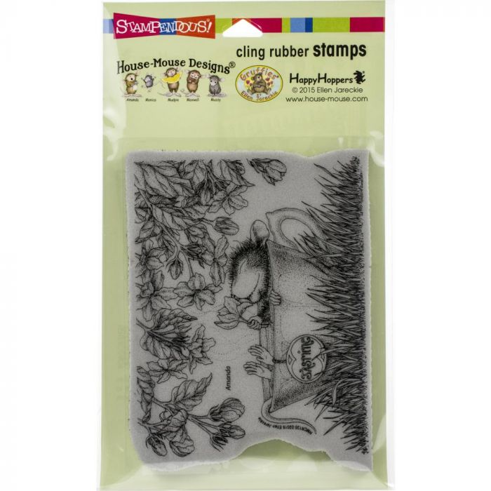 Stampendous House Mouse Cling Stamp Jasmine Tea