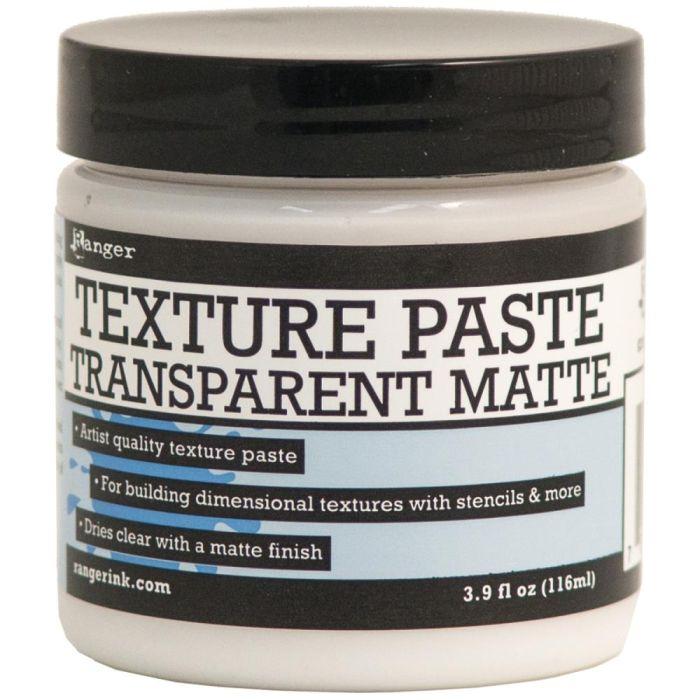 Ranger Texture Paste Transparant Matte 4oz