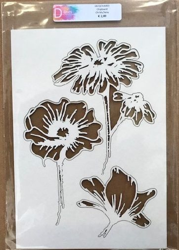 D-lines Chipboard Oh my Daisy