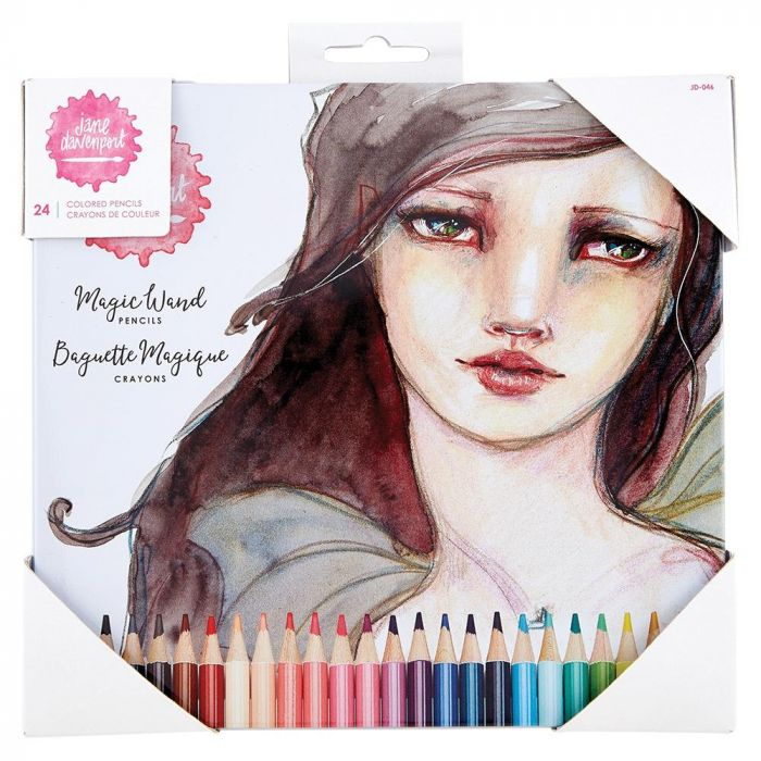 Jane Davenport Magic Wand Pencils 24/Pkg