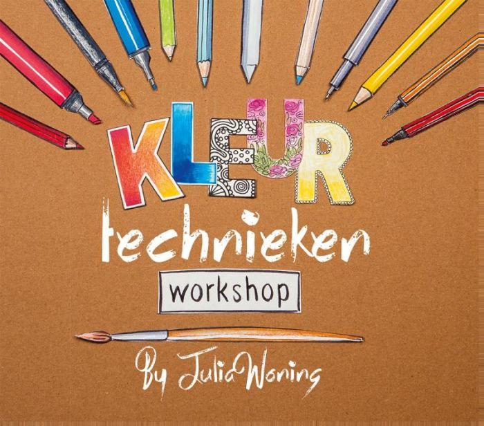 boek Julia Woning kleurtechnieken Workshop