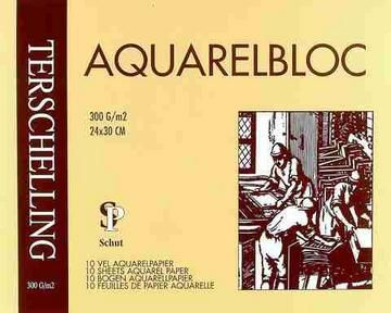 Schut Aquarelblok terschelling Classic 24X30-300G
