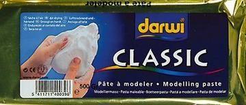 Darwi Boetseerklei Classic wit 500 gram