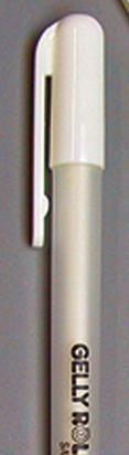 GELLY BASIC WHITE 08# lijndikte 0,4mm