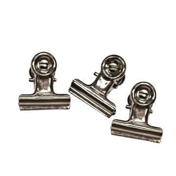 Hinge clips metaal nikkelkleur