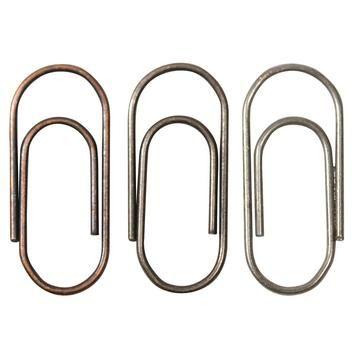 Mini Paper Clips metalen clips
