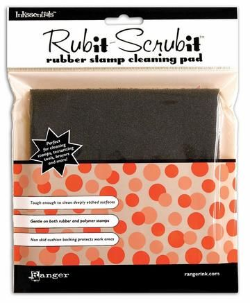 Rub it Scrub it pad stempelreiniging pad