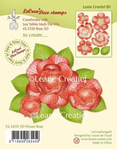 LeCrea - Clear stamp 3D Flower Rose 55.5459