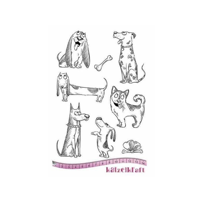 Katzelkraft  unmounted stamp Les chiens