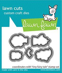 Lawn Fawn custom craft dies tiny fairy tale - lawn cuts