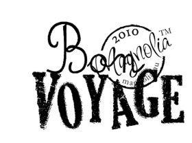 Magnolia Stempel Bon Voyage (text)