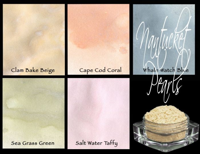lindy's Stamp Gang Magical Mica Nantucket Pearls