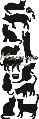 Marianne Design Craftable Punch die Cats